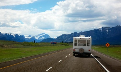 camping car circulation