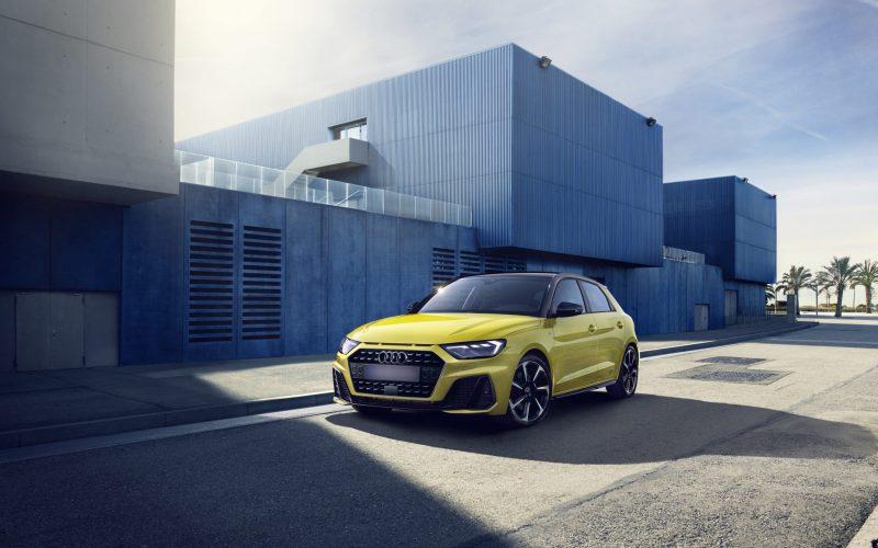 Audi A1 jaune